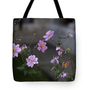 Flowers At The Cloisters Tote Bag