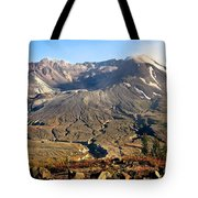 Flowers On Mount St. Helens Tote Bag