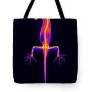 Flying Gecko X-ray Tote Bag