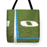 Football Field Ten Tote Bag