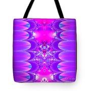 Fractal 16 Purple Passion Tote Bag