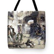 France: Paris Riot, 1851 Tote Bag