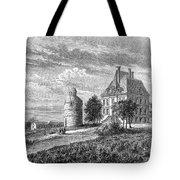 France: Wine Ch�teau, 1868 Tote Bag