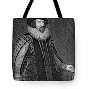 Francis Bacon (1561-1626) Tote Bag
