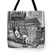 Franklin Stove Tote Bag