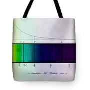 Fraunhofer Lines Tote Bag