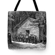 Freedmen School, 1868 Tote Bag by Granger