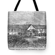 Freedmens School, 1868 Tote Bag