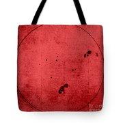 Galileo Sunspot Illustration Tote Bag