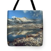 Geissler Mountain And Linkins Lake Tote Bag