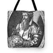 Gerardus Mercator, Flemish Cartographer Tote Bag