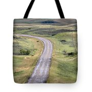 Ghost Town Galilee Saskatchewan Tote Bag