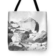 Giant Sandstone Boulders Tote Bag