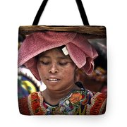 Girl Of Almolonga Tote Bag