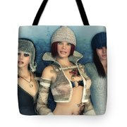 Girlfriends Tote Bag