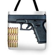 Glock Model 19 Handgun With 9mm Tote Bag