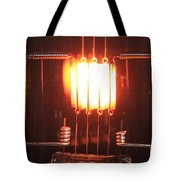 Glowing Filament 4 Of 4 Tote Bag