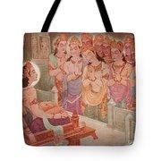 Gods Entertaining Mahavira Tote Bag