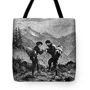 Gold Prospectors, 1876 Tote Bag