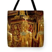 Golden Buddhas Tote Bag