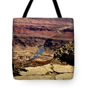 Grand Canyon Colorado River Tote Bag