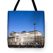 Grand Theatre In Warsaw Tote Bag