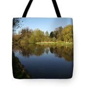 Grand Union Canal Near Denham Tote Bag