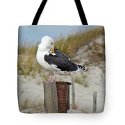 Great Black-backed Gull    Larus Marinus Tote Bag