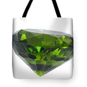 Great Emerald Isolated Tote Bag
