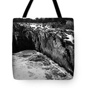Great Falls Virginia Bw Tote Bag