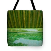 Green Pottery Tote Bag