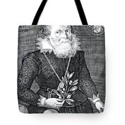 Gregor Horstius, German Physician Tote Bag by Science Source