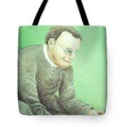 Gregor Mendel, Father Of Genetics Tote Bag