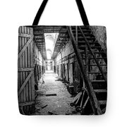 Grim Cell Block In Philadelphia Eastern State Penitentiary Tote Bag