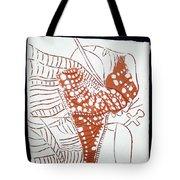 Guardian Angel - Tile Tote Bag