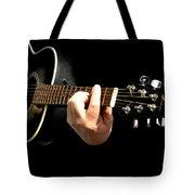 Guitar In Hands  Tote Bag