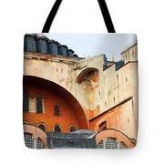 Hagia Sophia Byzantine Architecture Tote Bag