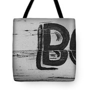 Hand Painted Old Bones Sign Tote Bag