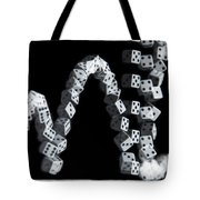 Hand Rolling Dice Tote Bag