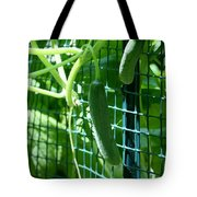 Hanging Cucumbers Tote Bag