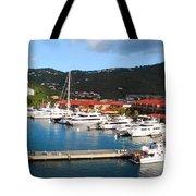 Harbor Paradise Tote Bag