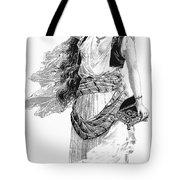Harem Woman. 19th Century Tote Bag
