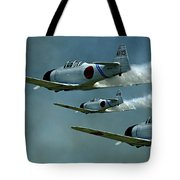 Heading For Pearl Harbor Tote Bag