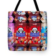 Hello Panda Biscuits Tote Bag