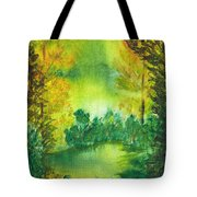 Hidden Pond Tote Bag