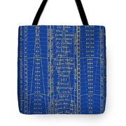 Hierarchy Of The Universe, 1617 Tote Bag