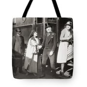 His Smothered Love, 1918 Tote Bag