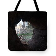 Hollow Log Tote Bag