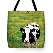 Holstein Dairy Cattle Tote Bag