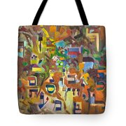 Holy Alphabet Tote Bag